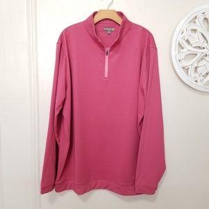 Peter millar size XXL half zip shirt